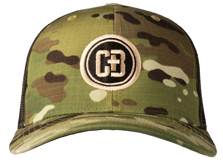 CB Logo Multi-Cam Mesh Backed Hat