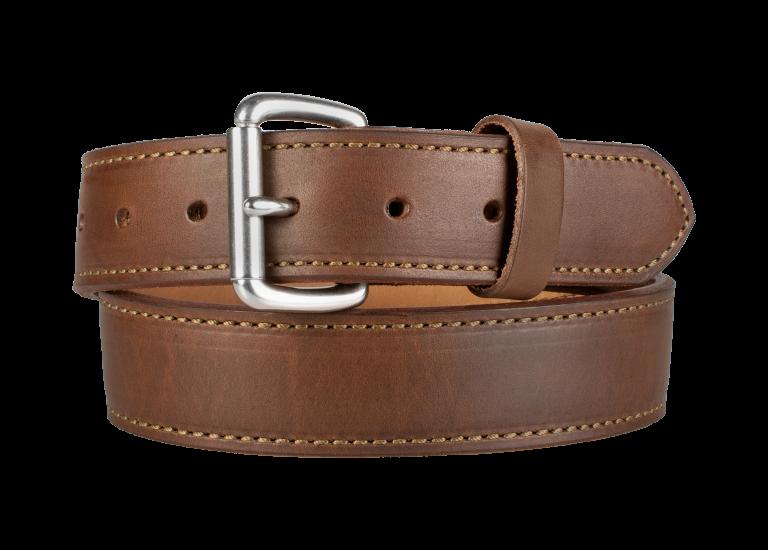 Quick Ship Classic Gun Belt - Brown