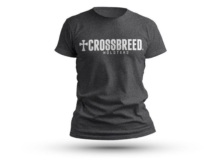 CrossBreed® Grey Logo T-Shirt