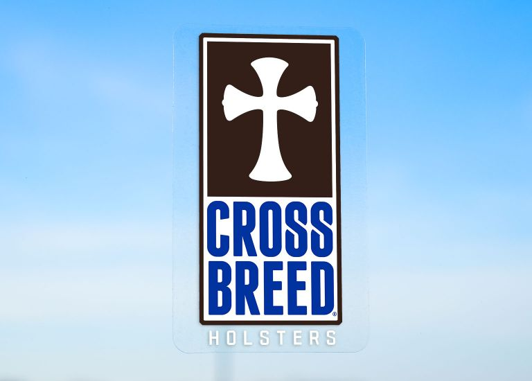 CrossBreed® Holsters Window Cling
