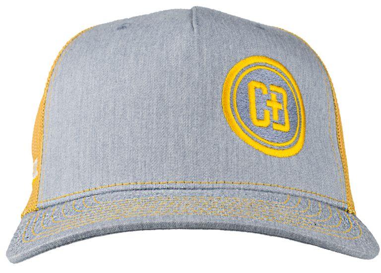 CB Logo Yellow Mesh Backed Hat