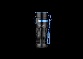 Olight Baton 3 Premium Edition Flashlight - Black