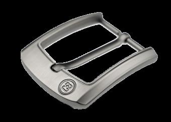 Executive Belt Buckle Gun Metal Grey