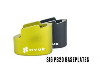 Hyve +3 Mag Base - Sig P320c 9mm - Stacked