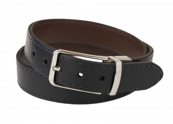 Ladies Reversible Carry Belt with Chrome Buckle