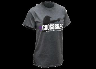 CrossBreed Holsters Ladies Tee-grey