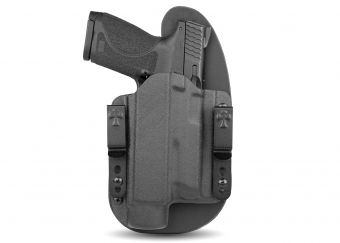 LDS 2.0 - S&W M&P With Streamlight TLR-1 - Black Cowhide - Black Kydex - Light Mounted Holster