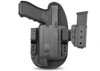 Glock 17 with Olight PL-Valkryie - LDS 2.0 System IWB OWB Holster - Glock With Light Mounted Holster