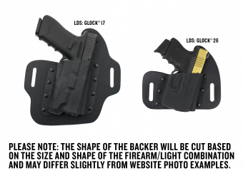Quick Ship Light Defender Series OWB Holster