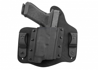 CrossBreed® Holsters Light Defender Series - Black Cowhide - Glock 17