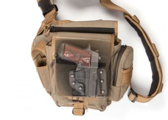 Mini Pac Mat with Sig Sauer P938 - In Bag