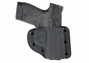 Modular Belly Band Holster with Smith & Wesson Shield