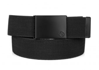 CrossBreed® Holsters - Nylon Belt - Logo Buckle - Coiled Front