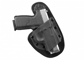 Ohai Modular Concealed Carry Holster with Kahr CW9 - Front View