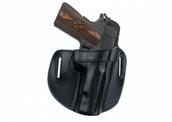 Open Top Pancake Holster With Springfield Armory 1911