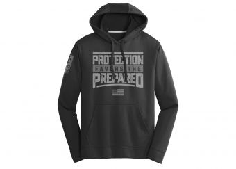 Protection Favors The Prepared Hoodie - Black