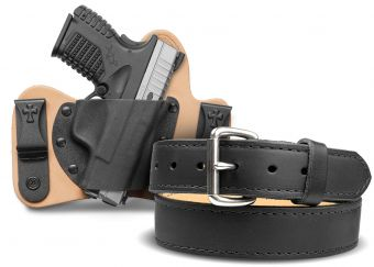 Quick Ship MiniTuck® IWB Holster and Classic Gun Belt Bundle - Springfield Armory XDs