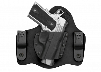 The Supertuck IWB Concealed Carry Holster Black Cowhide Is The Best Conceal Carry Holster On The Market.