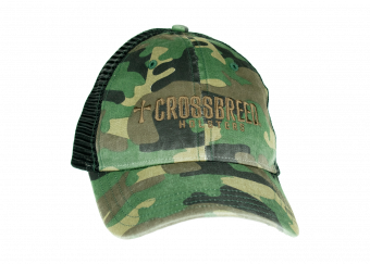 CrossBreed® Woodland Camo Trucker Hat