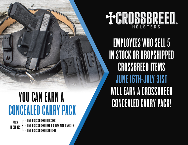 You can earn a concealed carry pack.