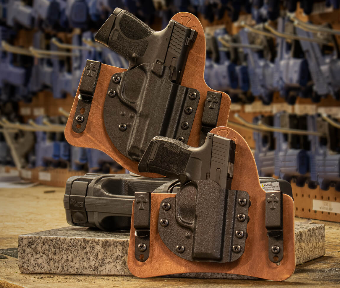 All New CrossBreed Hybrid ST2 and MT2 Holsters