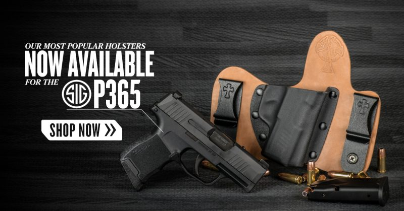The SIG P365 - Is it EDC Worthy? | CrossBreed Blog