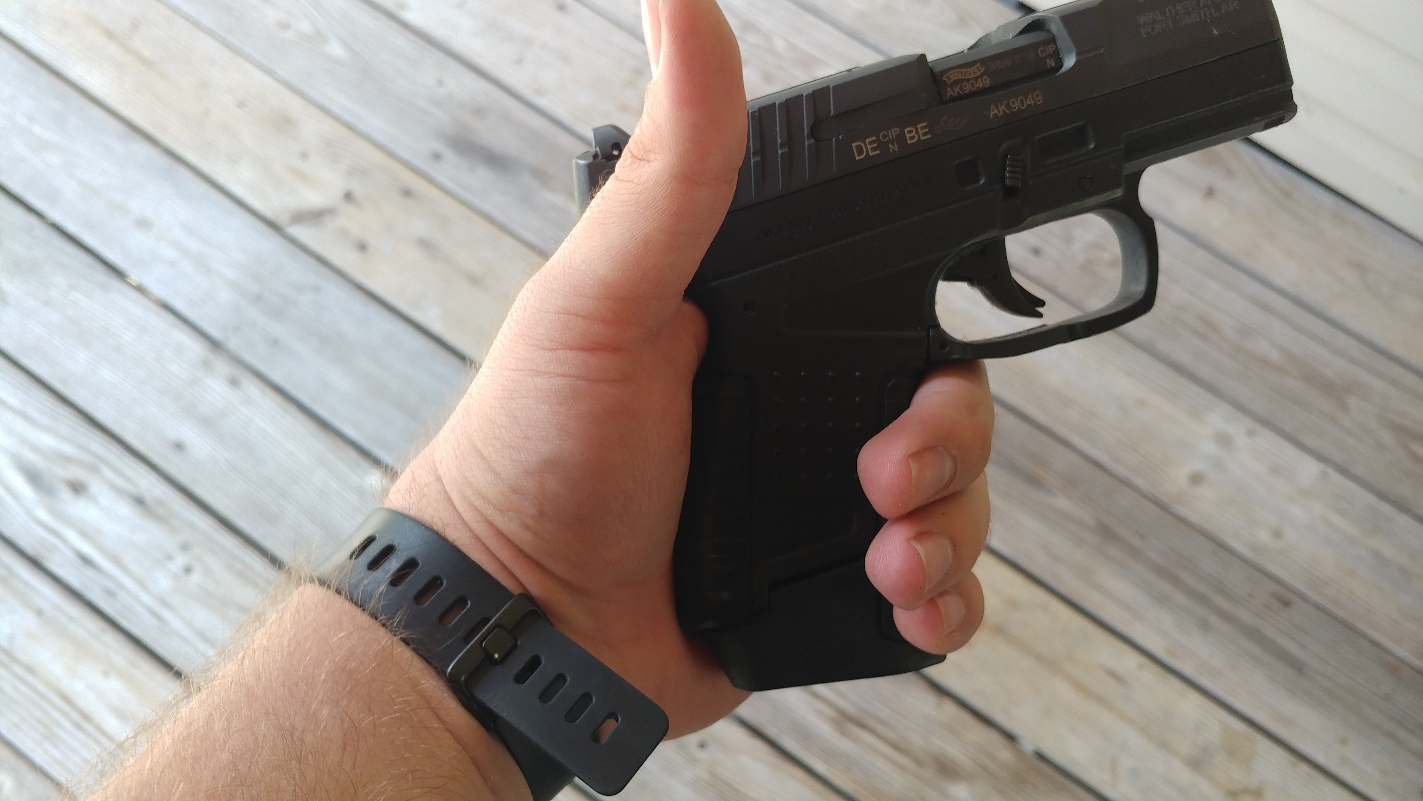 Walther, PPS, Walther PPS, James Bond, handgun, concealed carry, gun review, CrossBreed Holsters, Walther pistol, PPK, Walther Arms, Carl Walther, 9 MM, IWB, OWB, best holster, hybrid holster
