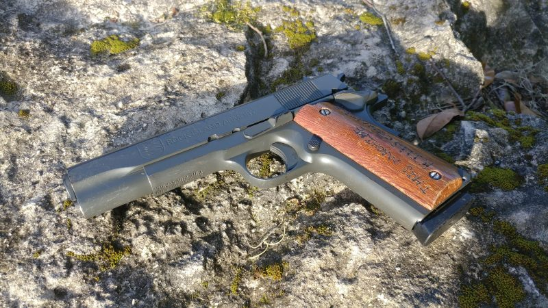 The WW2 1911 Special - Rock Island Armory GI Standard | CrossBreed Blog