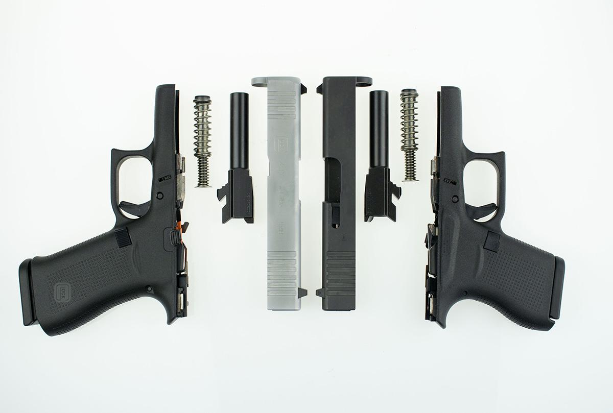 Glock, Glock 43, Glock 43x, G43, G43x, concealed carry, gun review, Glock holsters, IWB, OWB, CrossBreed Holsters, gun reviews, glock review, glock concealed carry guns, guns, pistols, hybrid holsters