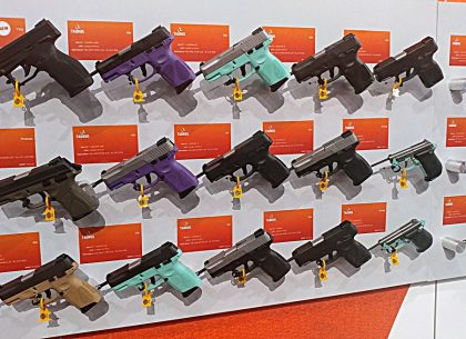 SHOT Show 2019: Taurus Brings Their A-Game With New 6- and 16-Shooter