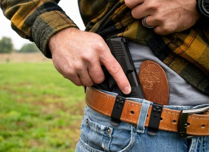 Leather Goods: Selecting the Right Backer For Your Holster