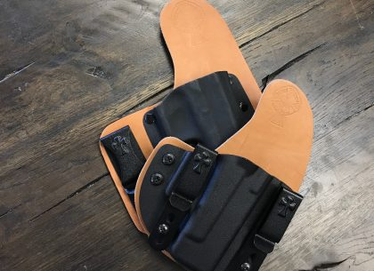 horsehide, CrossBreed Holsters, hybrid holsters, concealed carry, most comfortable holsters, leather hybrid holsters, leather,