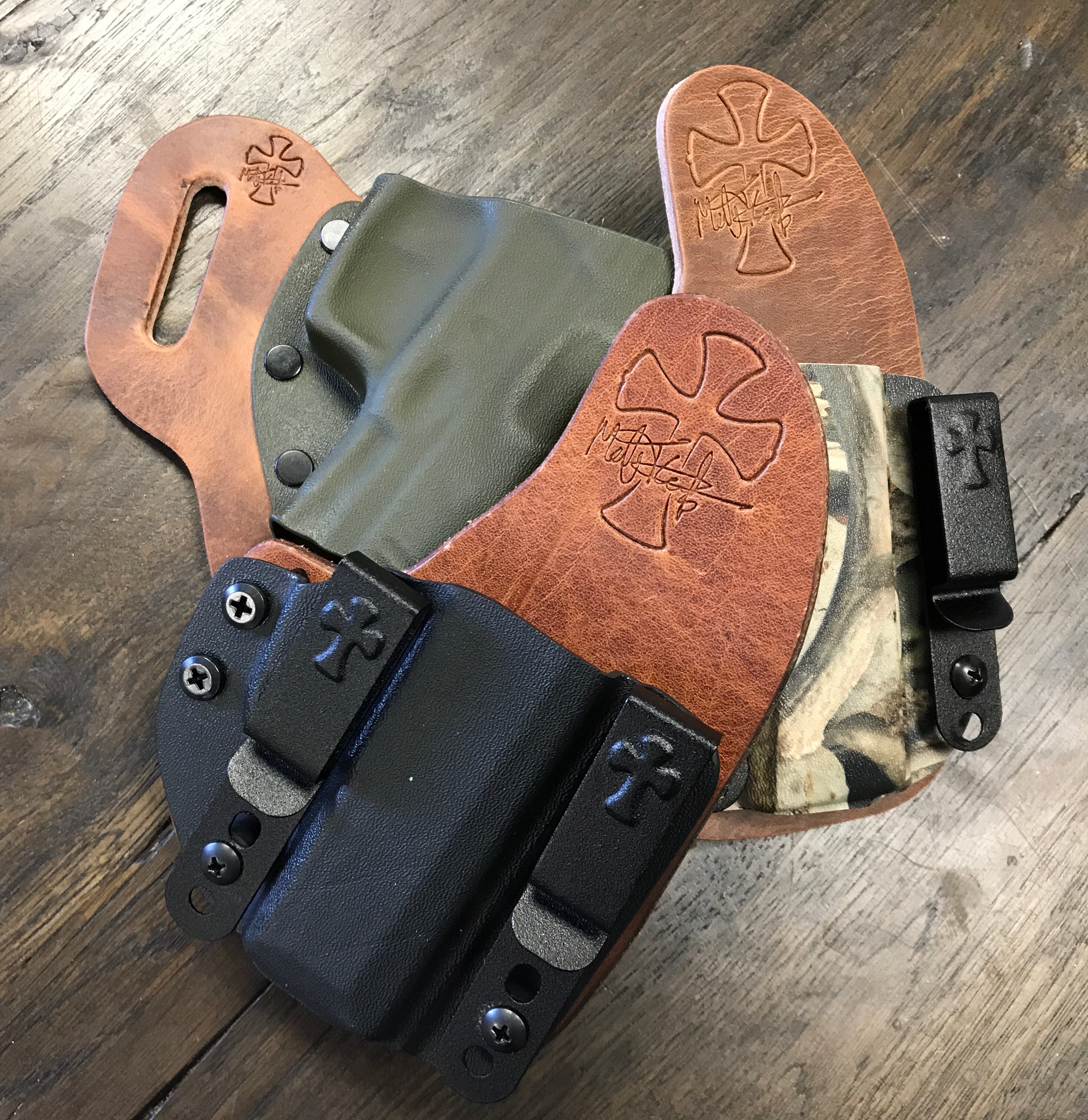 Founder's Series Leather, premium leather, hybrid holster, hybrid holsters, best holsters, concealed carry, best concealed carry holster, hybrid holsters, owb, iwb, premium hybrid holsters, best holster