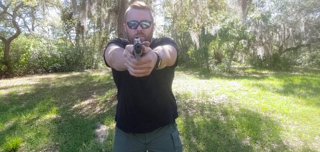 handgun shooting stances