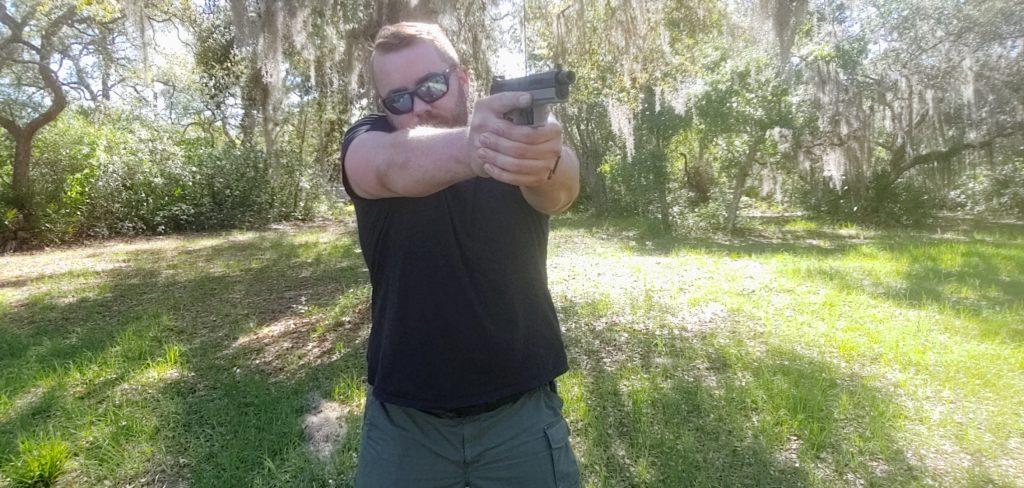 Handgun stances