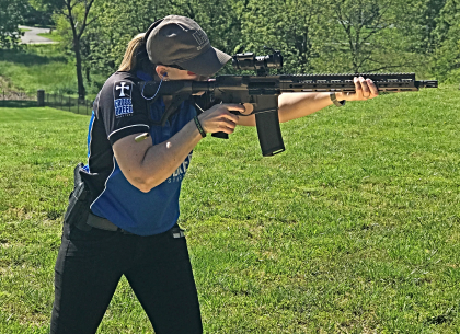Jenn Jacques, Ruger, Daniel Defense, CrossBreed Holsters, Gun Review, Concealed Carry, Smith & Wesson, Shield, OWB, IWB, women who carry, guns, gun rights, firearms, 2a, range day, Hornady,