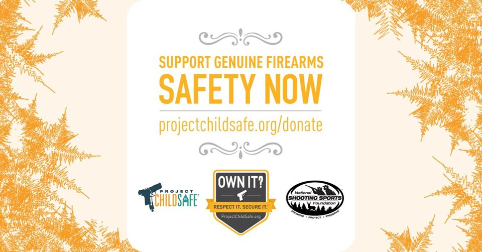 Project ChildSafe, NSSF, National Shooting Sports Foundation, CrossBreed Holsters, donation, gun safety, firearms, firearm safety, Mossberg, Bass Pro Shops, Colt, Outdoor Channel, hybrid holster, concealed carry holster, holster, holsters, Amazon, Amazon Prime, Amazon Membership, Amazon Smile, prime account, online shopping, charitable checkout