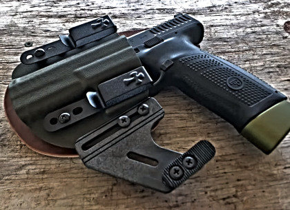 WATCH] The Armorer's Fix Takes the NEW CZ P-10 F Out to the Range