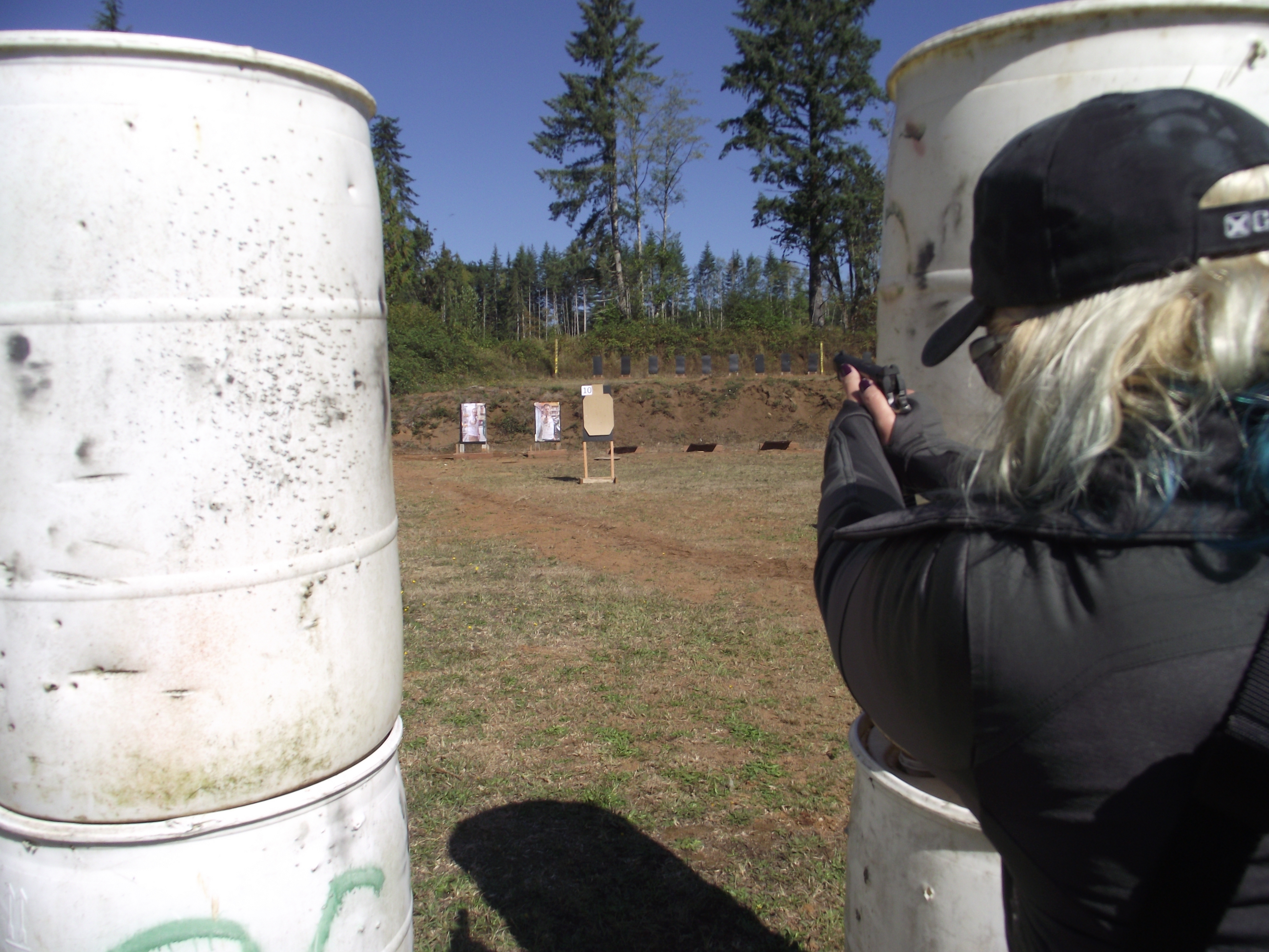 shooter, active shooter, firearms training, Kat Ainsworth, range day, gun range, shooter, self-defense, training, CrossBreed Holsters, gun training, active shooter training