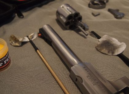 To Clean Guns or Not to Clean Guns, That is the Question
