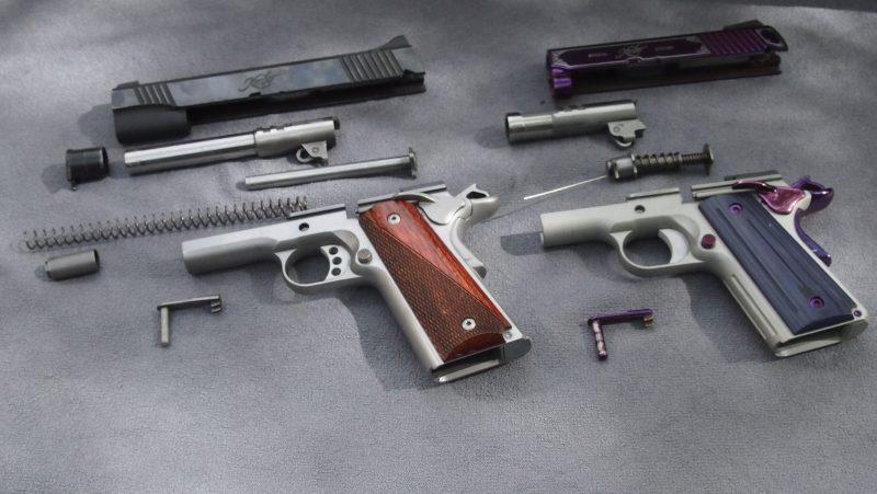guns, gun cleaning, cleaning guns, range day, handguns, pistols, striker-fired, handgun, gun, gun range, crossbreed holsters