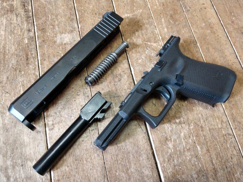 Glock, Glock 19, guns, gun cleaning, cleaning guns, range day, handguns, pistols, striker-fired, handgun, gun, gun range, crossbreed holsters