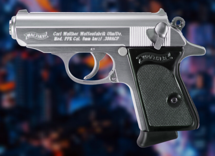 Walther Now Shipping PPK Stainless Pistols!