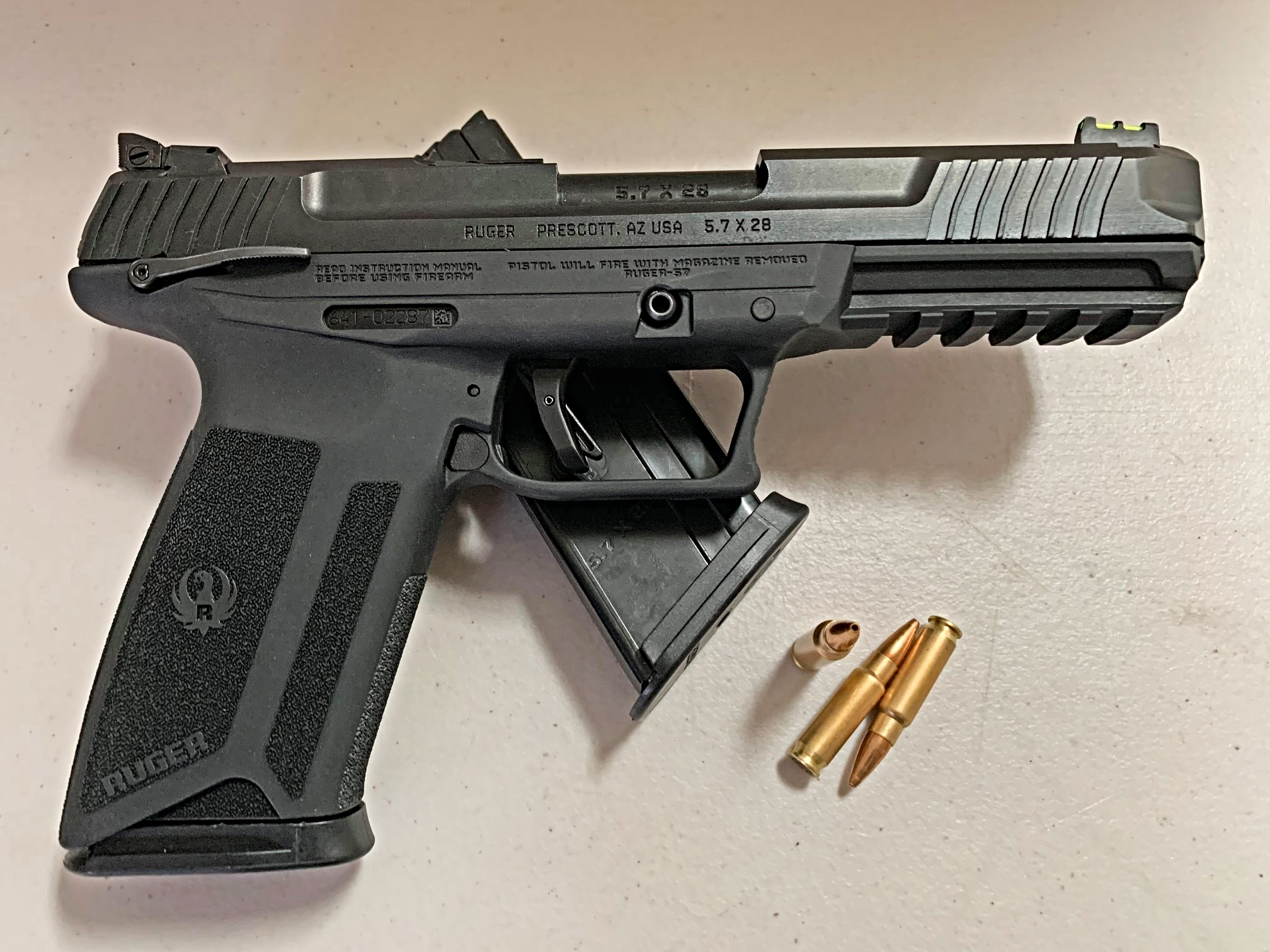 Ruger, striker-fired, pistol, gun review, Ruger 57, CrossBreed Holsters, 57, new gun, new pistol, guns, Ruger firearms, Ruger pistol, new Ruger, new Ruger Pistol, 16401, 16402, firearms, new firearms, competition firearms, comp guns, competition guns, new guns,