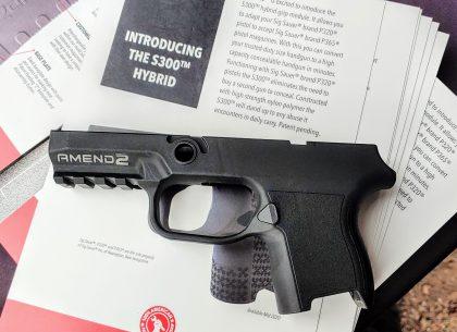Modular Madness: The Amend2 S300 Modular Pistol Frame
