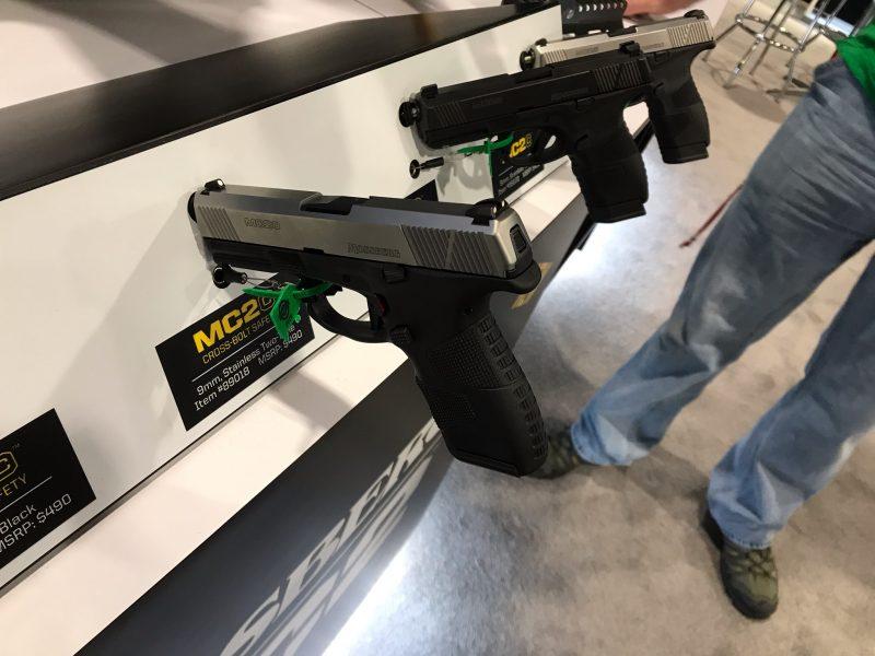 Mossberg, MC2, Handguns, SHOT Show, Self-Defense, Concealed Carry, Home Defense, new guns, handgun, 9mm, Mossberg MC2c, MC2c, new products, best concealed carry holsters, holsters, hybrid holsters, new guns