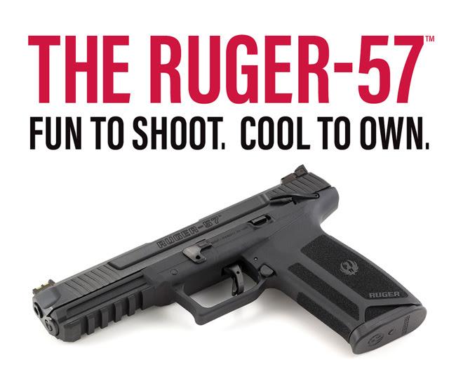 Ruger, Ruger-57, CrossBreed Holsters, holsters, IWB, OWB, pistol