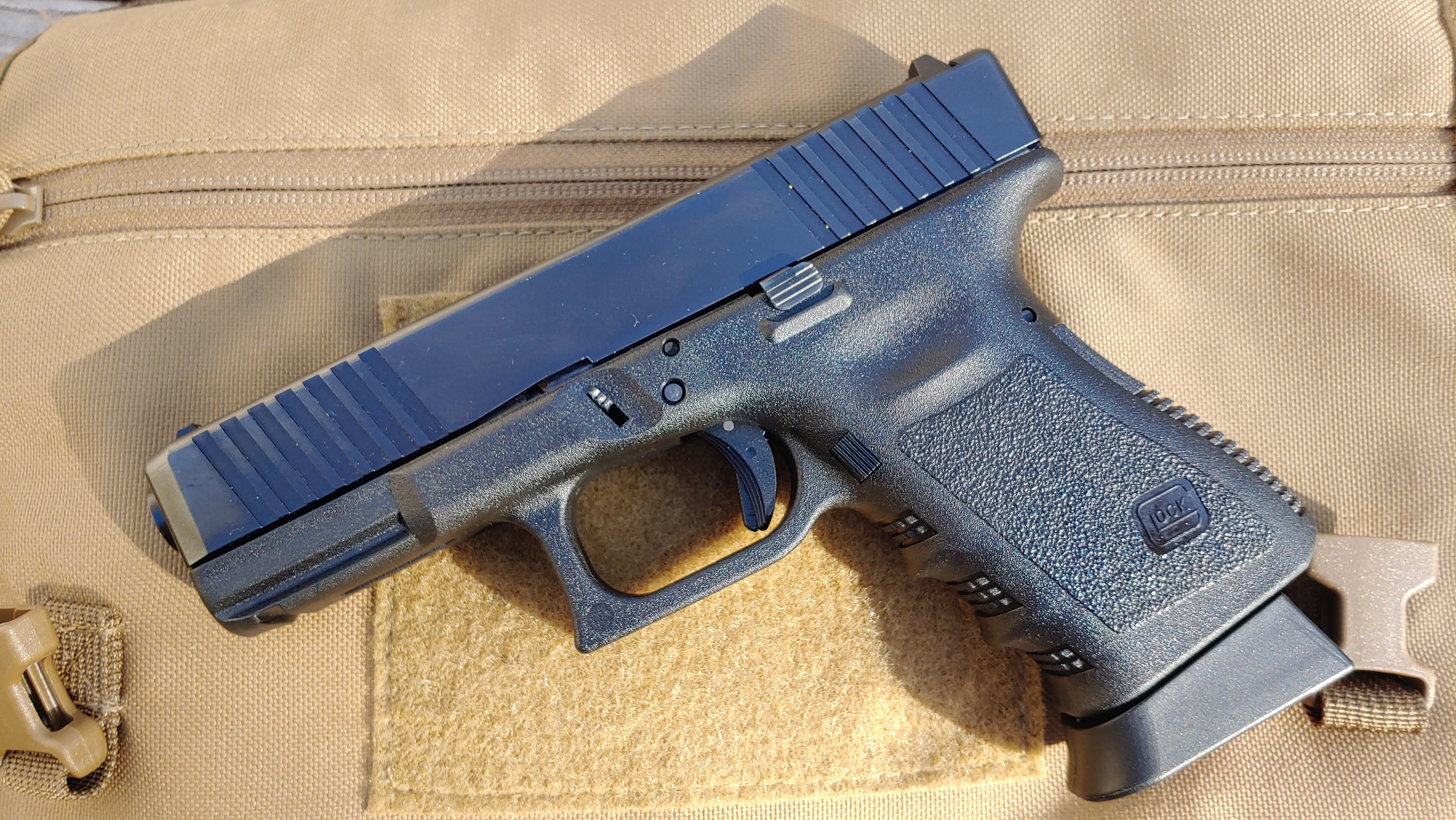 Glock, Glock 19, upgrades, CrossBreed Holsters, G19, handguns, Glock pistols, Travis Pike, concealed carry, IWB, IWB holster, holsters, Glock holsters, holster for Glock 19