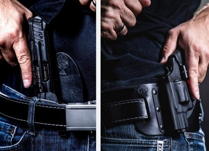 IWB or OWB? How to Choose the Right Holster Type For Your Situation