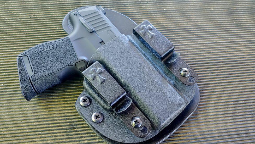 SIG Sauer, SIG P365, P365, SIG P365 Air Gun, SIG Air Guns, SIG, firearms training, quarantine, lockdown, COVID-19, firearm training, Travis Pike, CrossBreed Holsters, Concealed Carry, CCW, air guns, training with air guns, SIG training, SIG firearms, IWB, OWB, most comfortable IWB, IWB Holsters, most comfortable holster